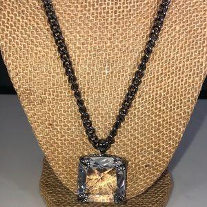 Noir necklace vintage